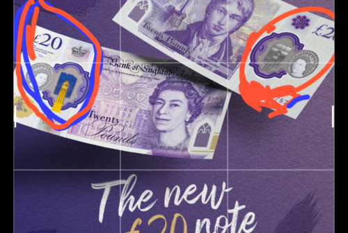 The New £20 Is Now Out, Having 5G Hologram And Corona Virus Symbol Above It