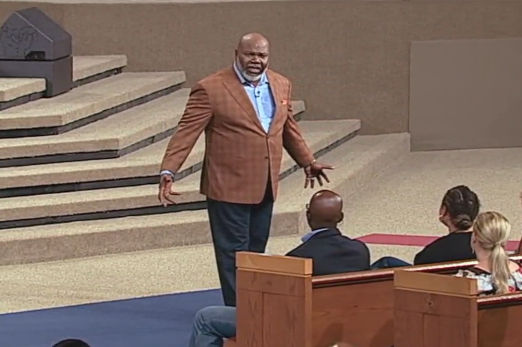 Why God Gives You Room To Fail And How He Works With Your Failure– Bishop T.D. Jakes